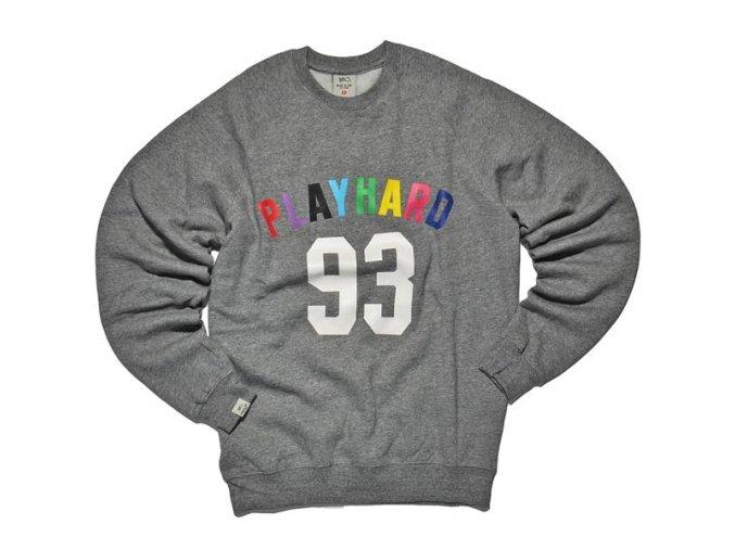 play hard 93 crewneck