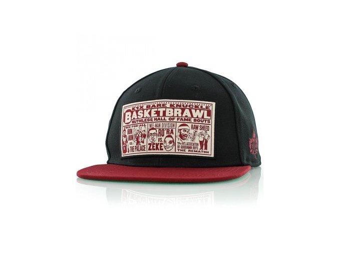 basketbrawl snapback cap