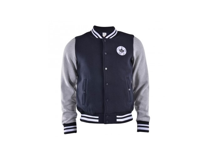 sweat varsity jacket