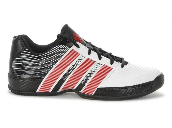 Commander TD 4 Low Synthetic running white/black/light scarlet