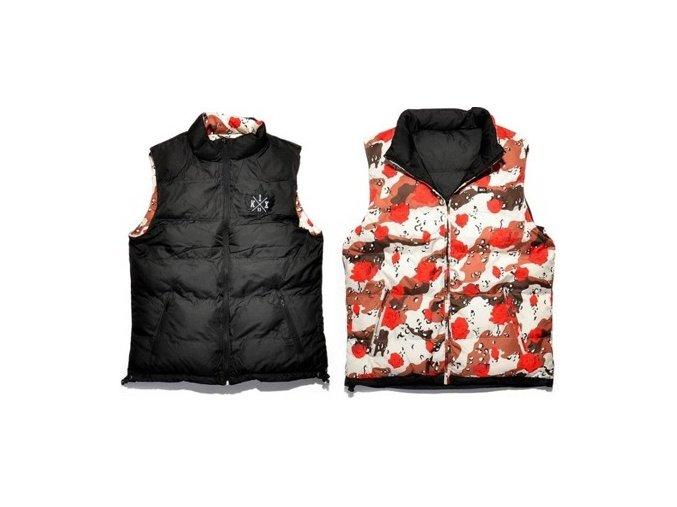desert rose reversible vest