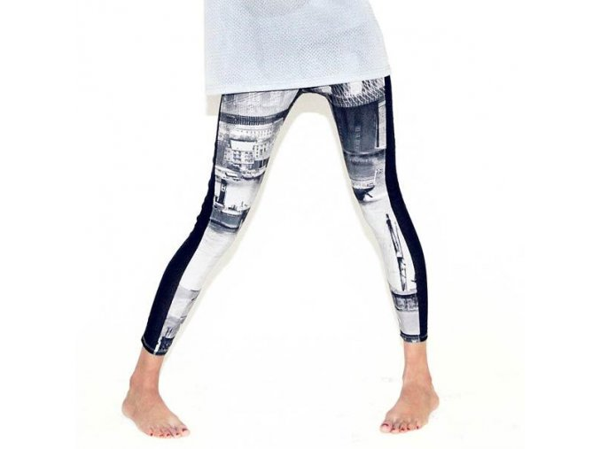 allover diamond leggings