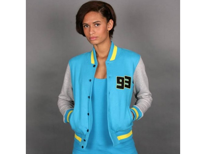 shorty baseball sweat jacket