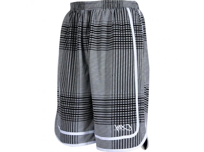Fade check reversible shorts