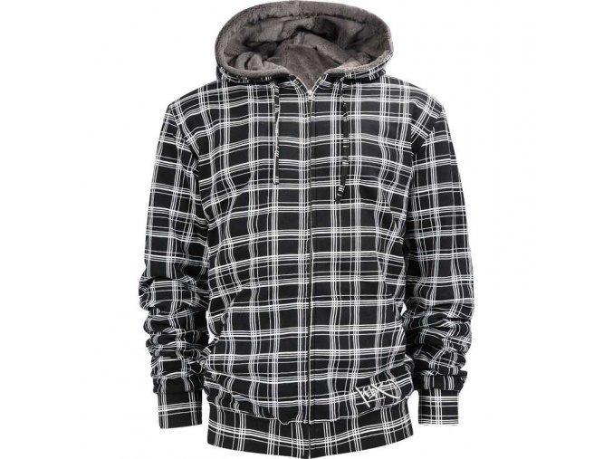 check it out fur zipper hoody