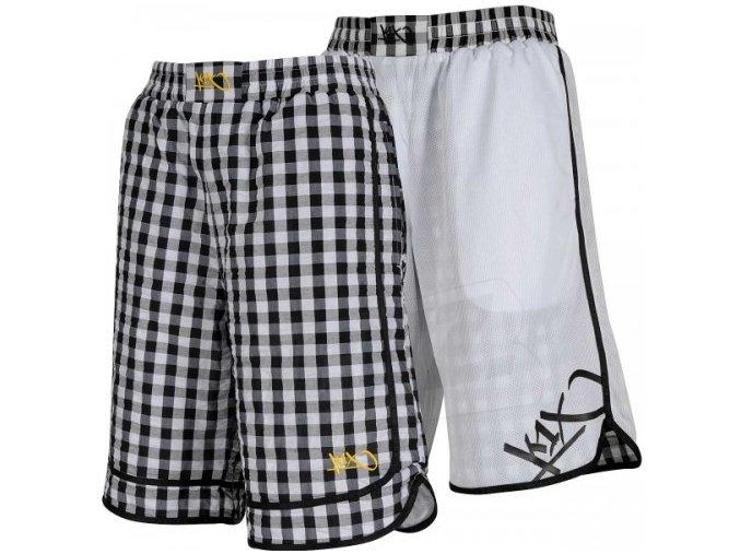 suck on deez revesible shorts kraťasy K1X