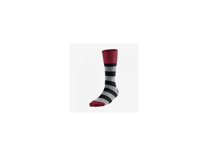 JORDAN ELEPHANT STRIPED CREW SOCKS