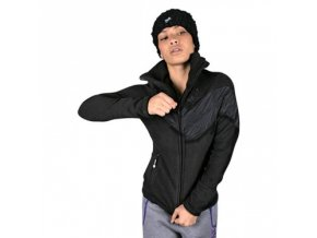 shorty bombshell fleece zipper jacket