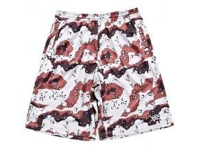 desert camo gnarly mesh shorts