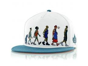 darwin basketball snapback cap