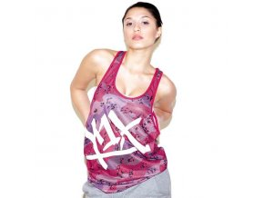 mesh tear it up tank top