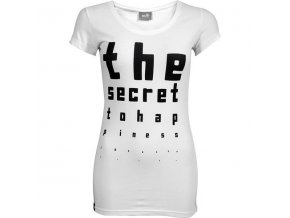 shorty the secret to happiness boyfriend cut tee
