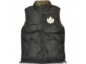 leaf reversible vest
