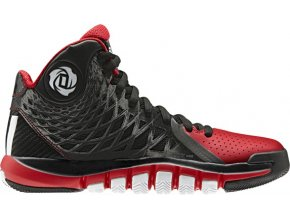 D ROSE 773 II Synthetic black/light scarlet/running white