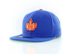 leaf crest snapback cap