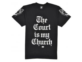 the court Is my church tee