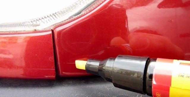 Jak se zbavit škrábanců na autě