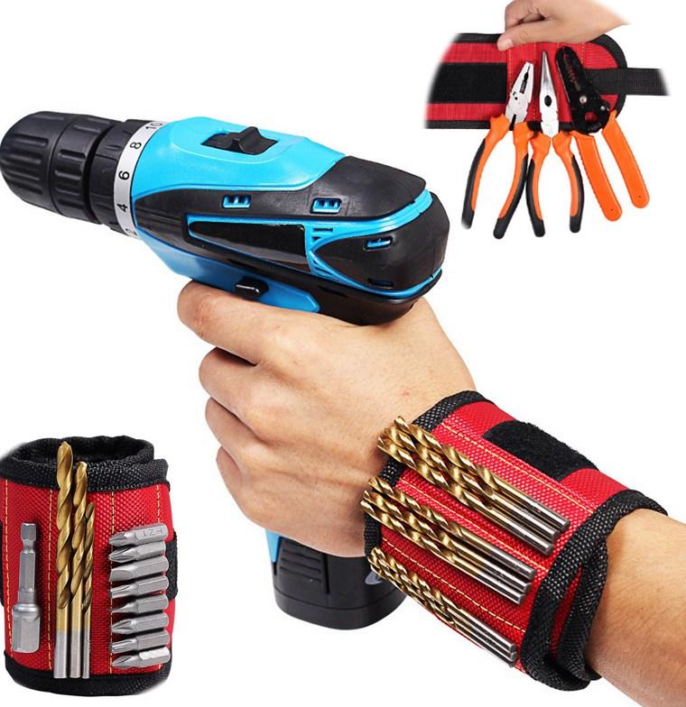 Urijk-font-b-Magnetic-b-font-Bracelet-For-Tools-font-b-Magnetic-b-font-Wristband-Portable