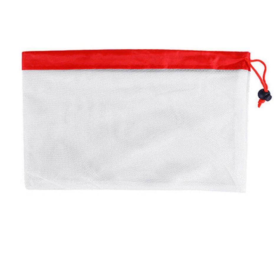 EKO sáčky znovu použitelné na potraviny Varianty sáčku: Červený 20cmx31cm