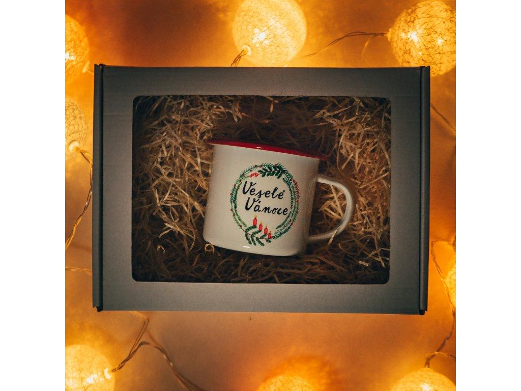 Vánoční plecháček v dárkovém balení