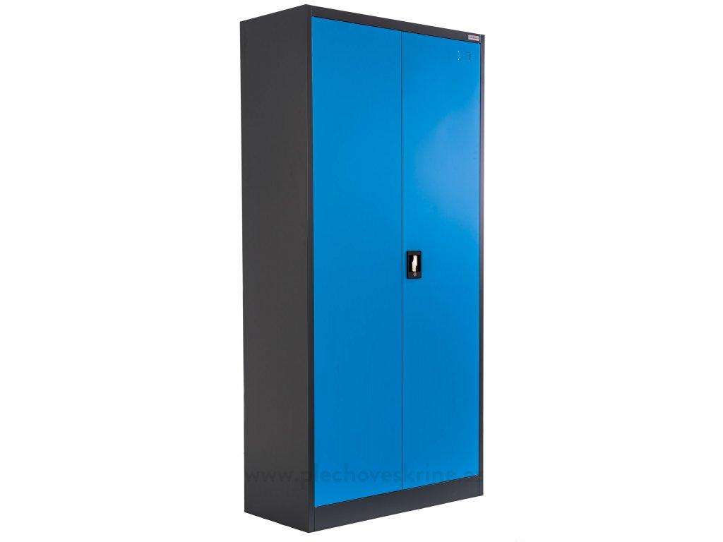 Plechová skříň policová v1850 x š900 x h400 - 0,7mm