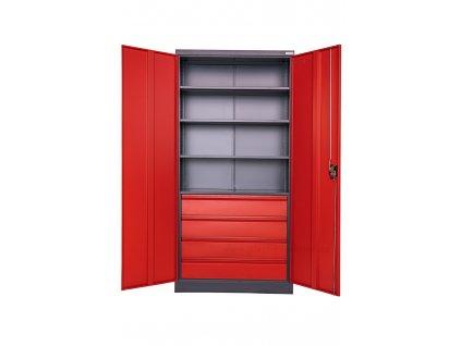 Plechová skříň