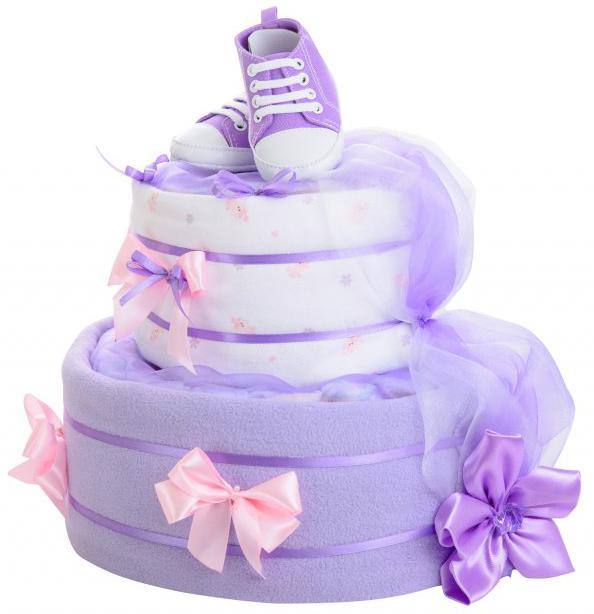 Dvoupatrový dort pro princezny