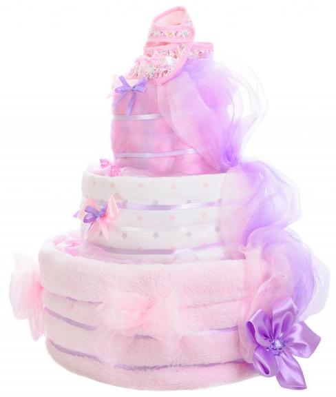 Třípatrový dort pro princezny