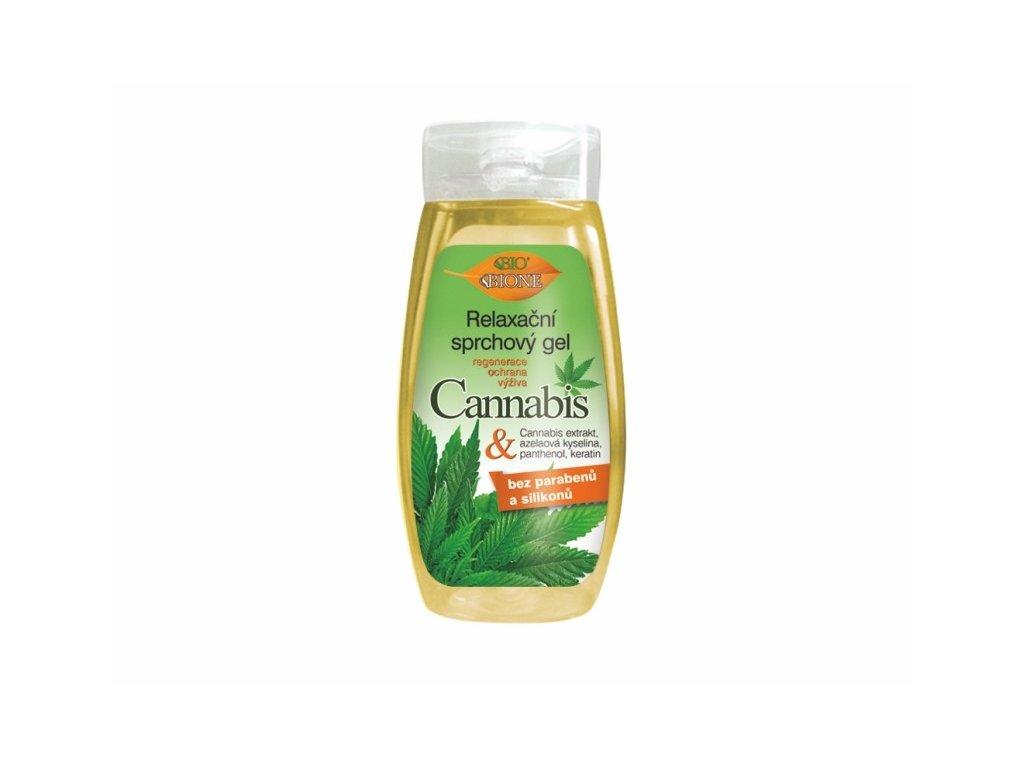 Bione Cosmetics Relaxační sprchový gel CANNABIS 260 ml