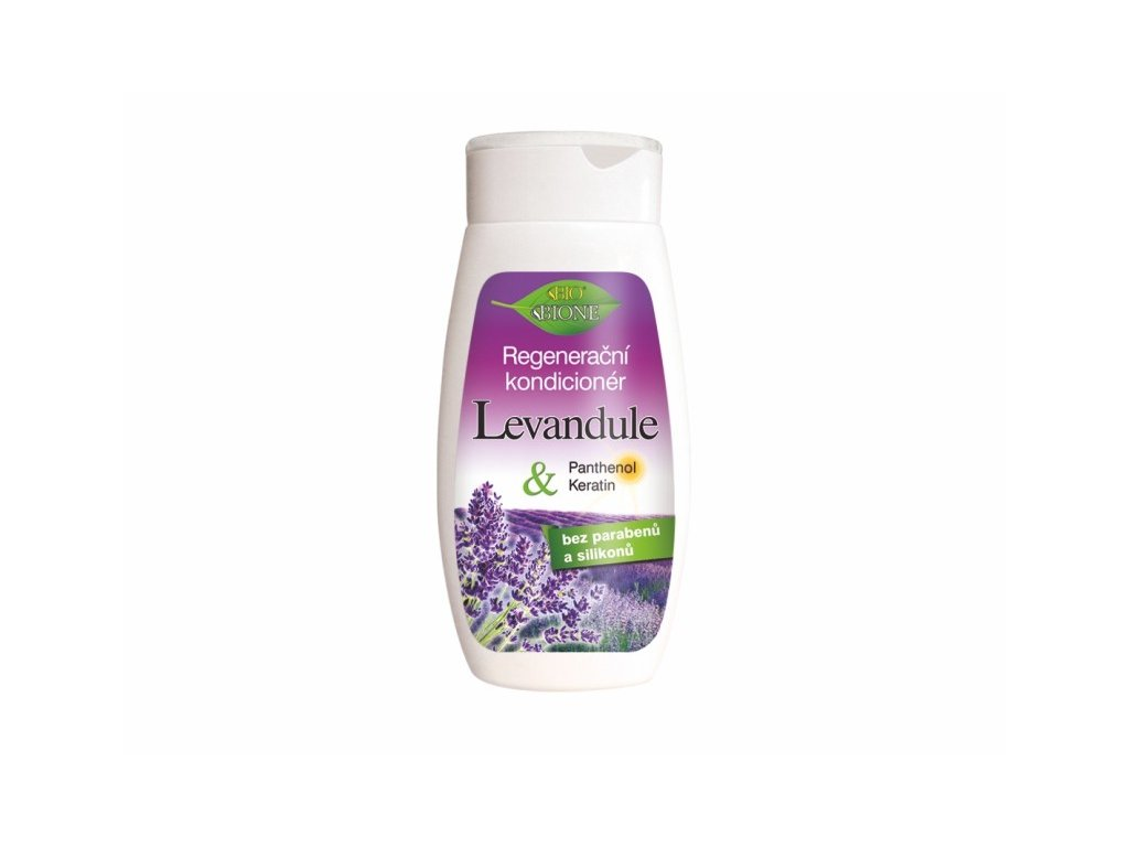 Bione Cosmetics s regenerační levandulový kondicionér 260 ml
