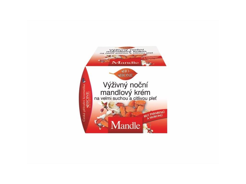 Bione Cosmetics  Mandle výživný noční mandlový krém 51 ml
