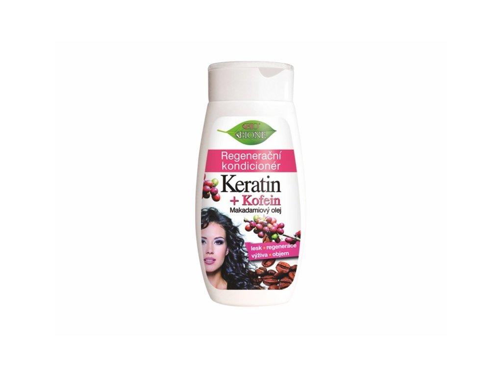 Bione Cosmetics s regenerační kondicionér Keratin + Kofein 250 ml