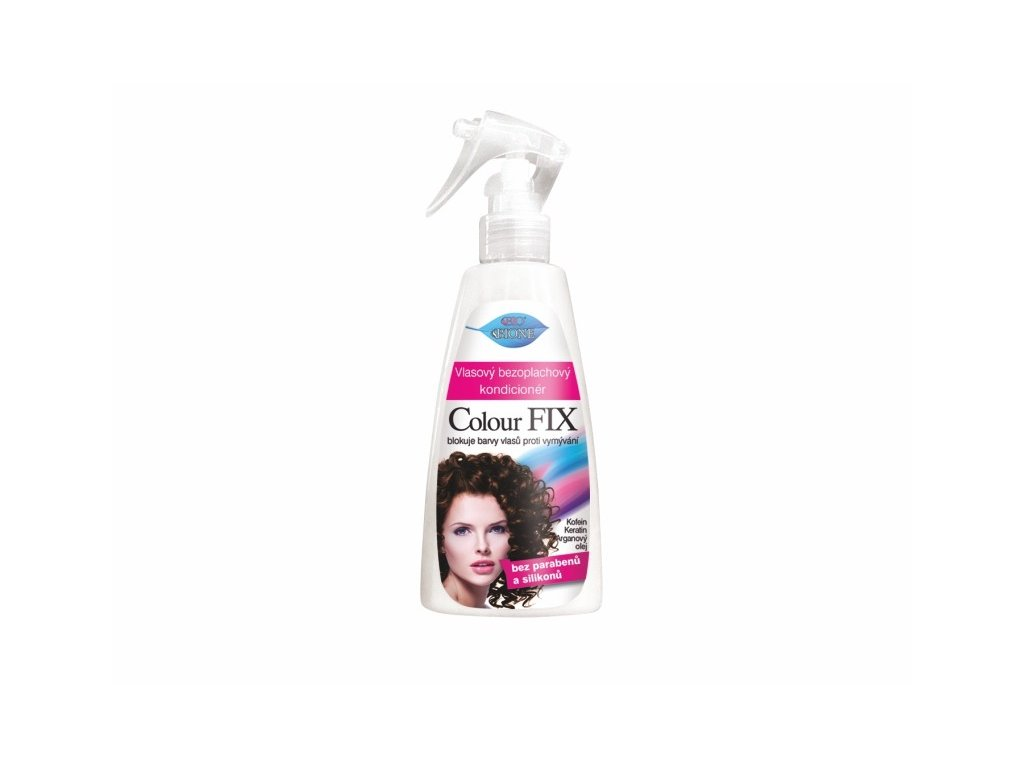 Bione Cosmetics Vlasový bezoplachový kondicionér COLOUR FIX 260 ml