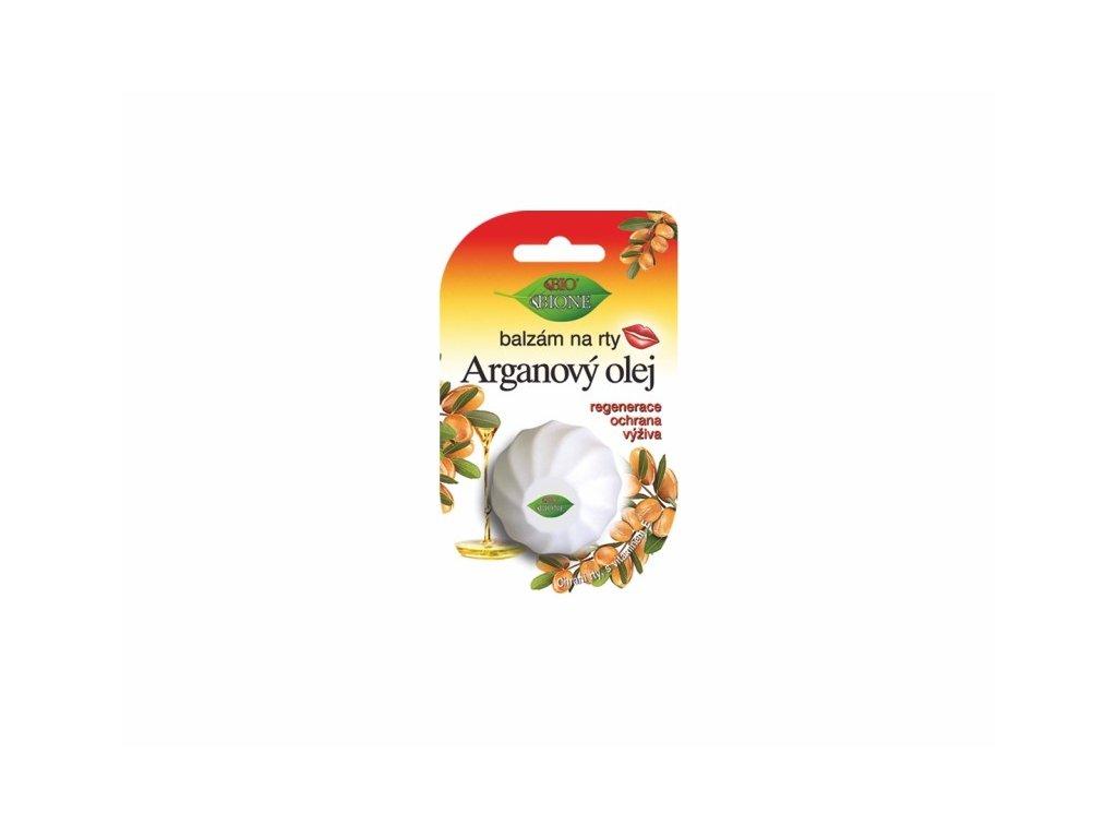 Bione Cosmetics s vajíčko balzám na rty Arganový olej 6 ml