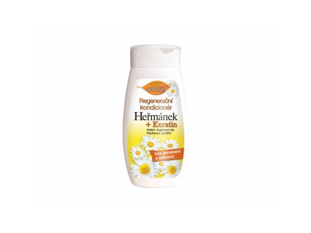 Bione Cosmetics s regenerační kondicionér Heřmánek + Keratin 260 ml