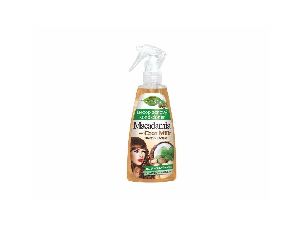 Bione Cosmetics s Macadamia + Coco milk Bezoplachový kondicionér 260 ml