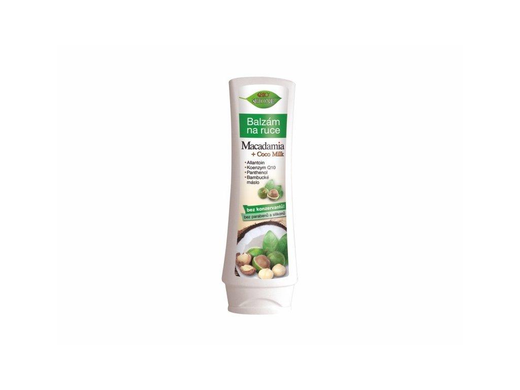 Bione Cosmetics Bio MACADAMIA + COCO MILK Balzám na ruce 150 ml s