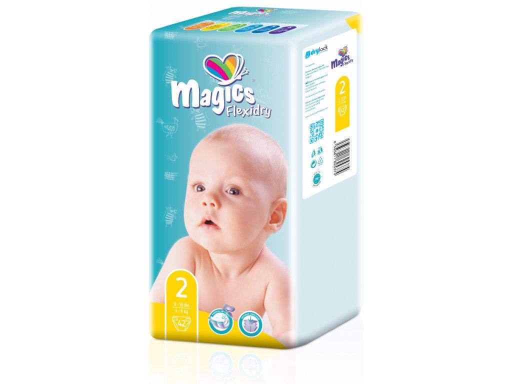Magics Flexidry 2 Mini, 4-8 kg, 42 ks