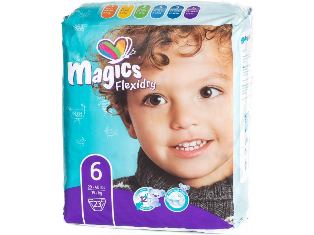 Magics Flexidry 6 Extra Large, 15+ kg, 23 ks