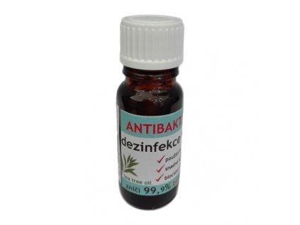 Antibakteriální dezinfekce na ruce s TTO 10 ml
