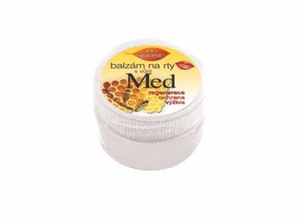 Bione Cosmetics s balzám na rty v kelímku 25ml Med