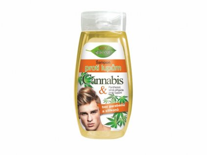 Bione Cosmetics Šampon proti lupům pro muže CANNABIS 260 ml