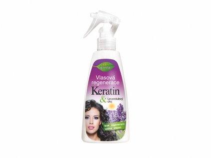 Bione Cosmetics LEVANDULE Vlasová regenerace ve spreji s keratinem