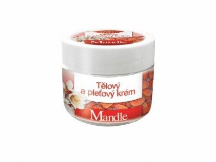 Bione Cosmetics s Mandlový pleťový krém 260 ml