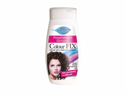 Bione Cosmetics s Bio Colour Fix regenerační šampon 260 ml