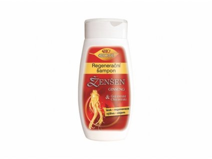 Bione Cosmetics s Ženšen regenerační šampon na vlasy 260 ml
