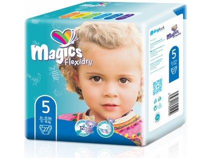 Magics Flexidry 5 Junior, 11-16 kg, 27 ks
