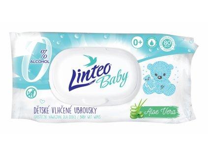 2573 linteo baby pure fresh vlhcene ubrousky 80 ks