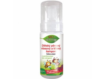 bione dětský pěnový šampon