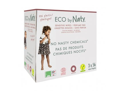 naty wipes unscented trojbaleni